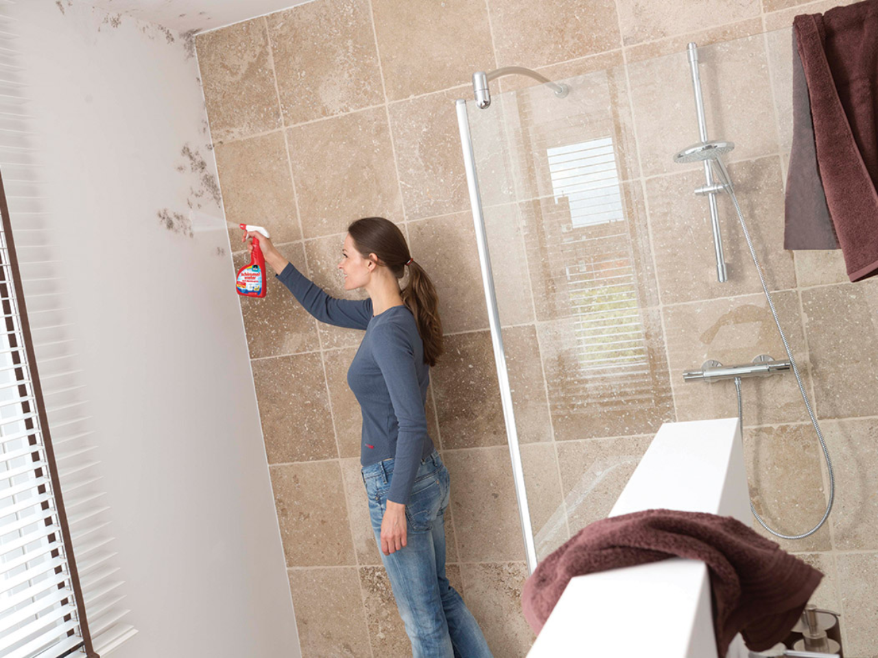 Mildew Remover bathroom