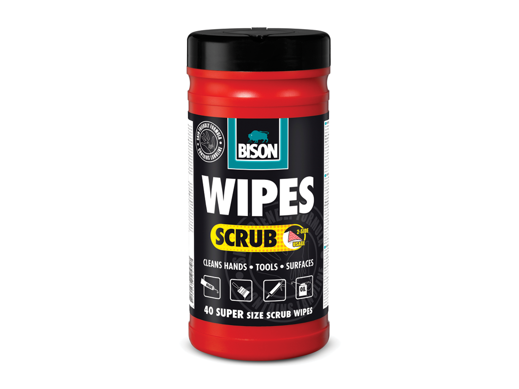 Wipes scrub