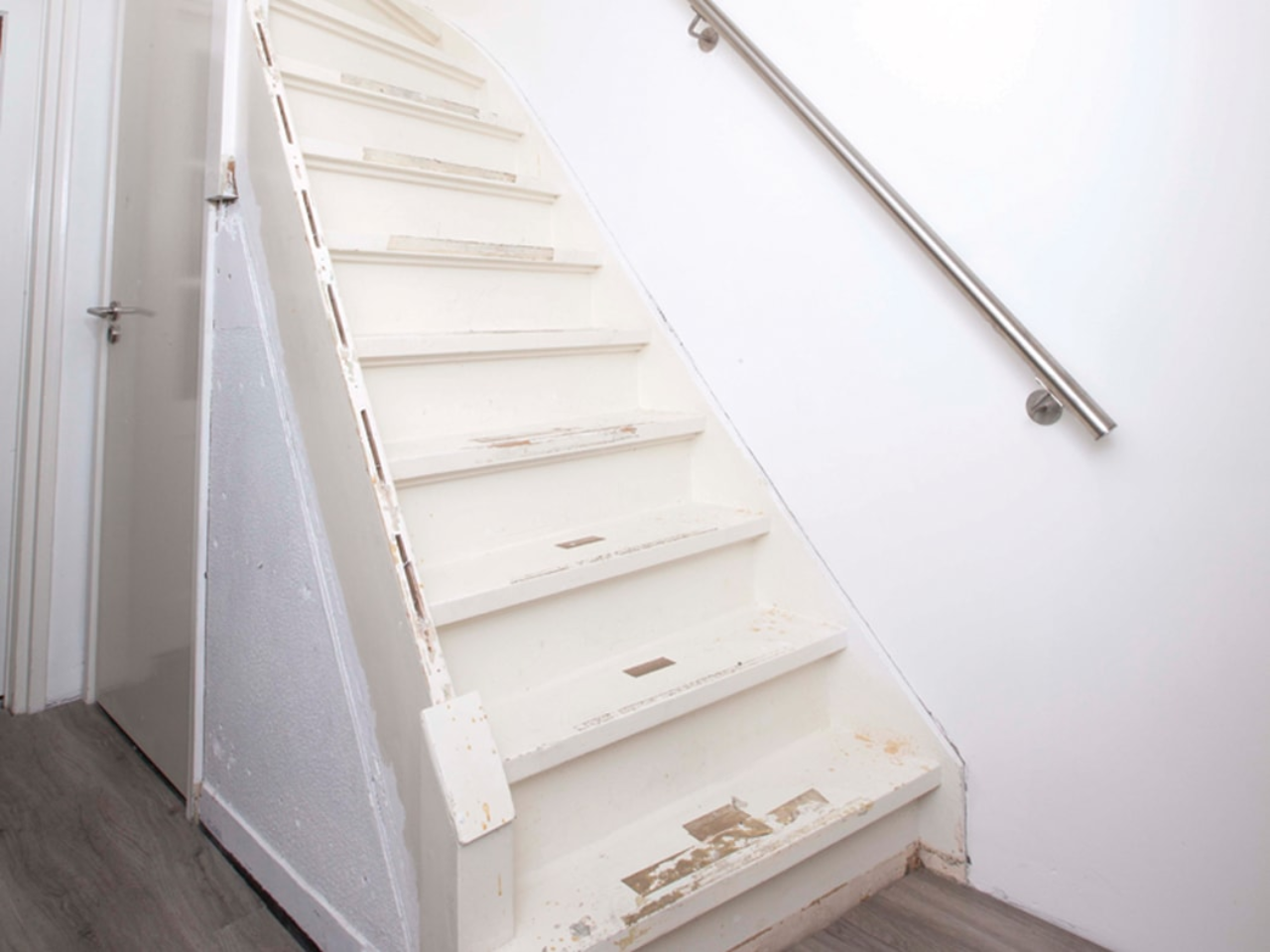 Step 1 renovating a staircase